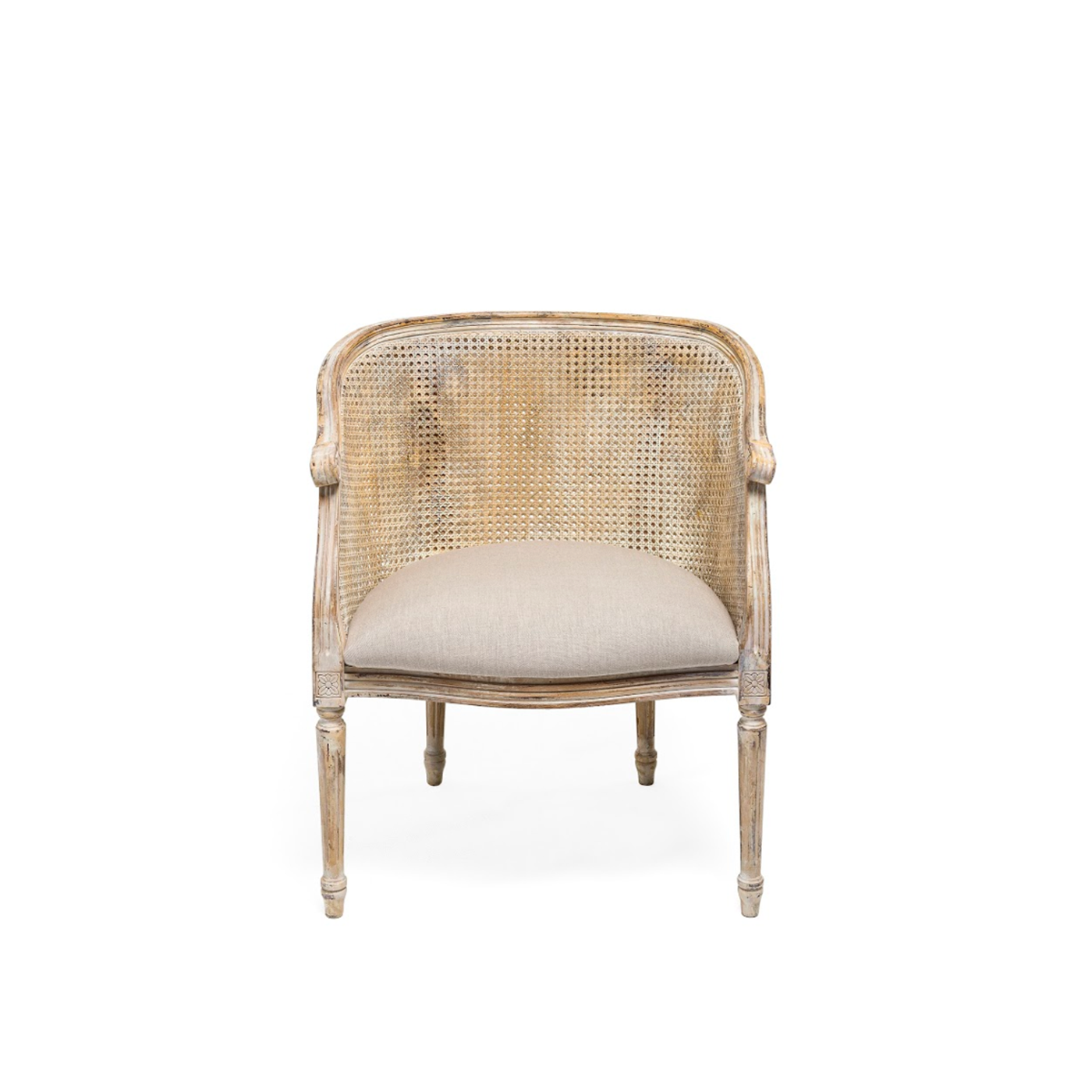Louis XVI Tub Chair (Code 7363) Caned Image
